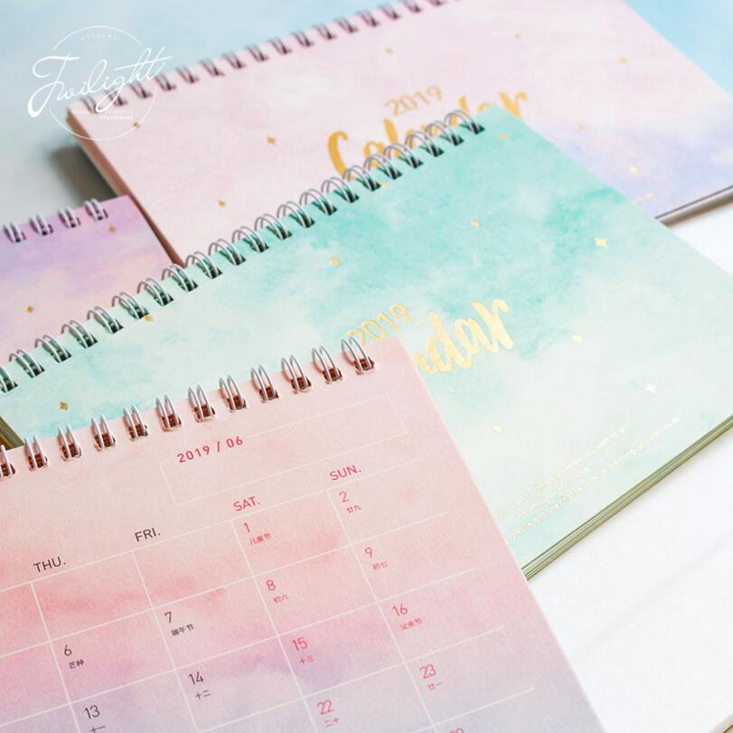2019 Index Type Calendar Stickers Gray for Diary Planner Scheduler Organizer
