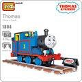 Loz bloques de construcción de juguetes para niños thomas vía del tren y amigos de la película figura anime mini bloques diy modelo idea 1804