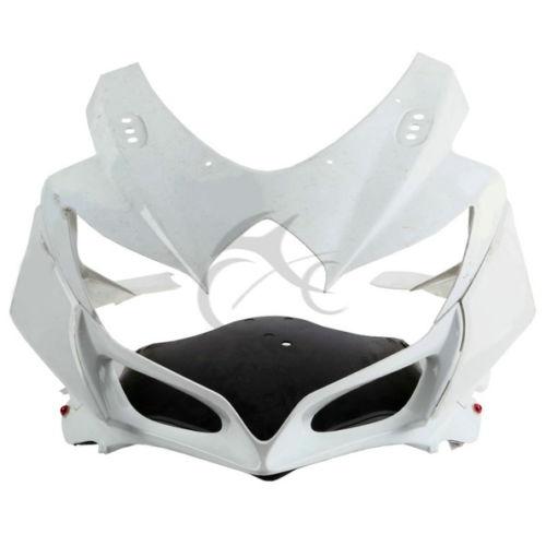 Motorcycle ABS Unpainted Upper Front Fairing Cowl Nose For Suzuki GSXR600 GSXR750 2008 2010