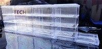 Aquarium rain type trickling filter tank fish tank external top filter drop box DUCK 75 80cm three layers12 boxes