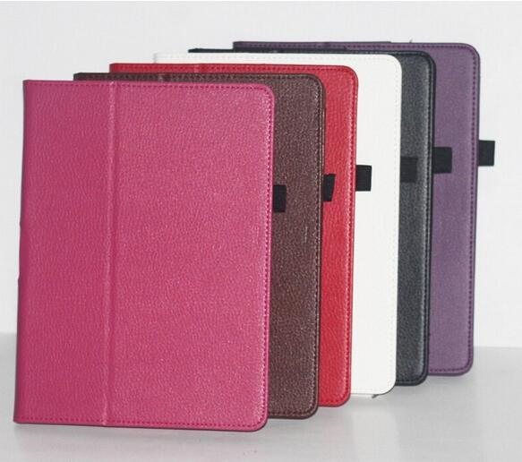 New Lychee pattern PU Leather Stand Case for Sony Xperia Tablet S SGPT111 SGPT112 SGPT113 SGPT114 9.4inch Tablet PC