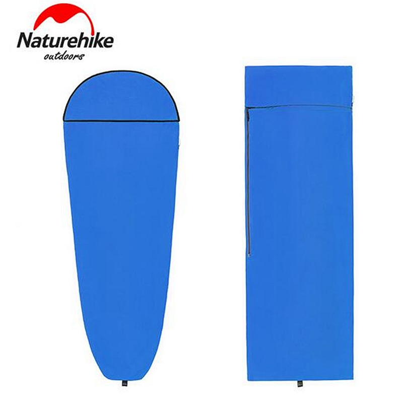 Naturehike Ultralight Outdoor Sleeping Bag Liner Coolmax Camping Travel Hotel Sleeping Bag naturehike outdoor travel camping storage bag folding luggage bag organizer with wheels travel kits tent sleeping bag set bag