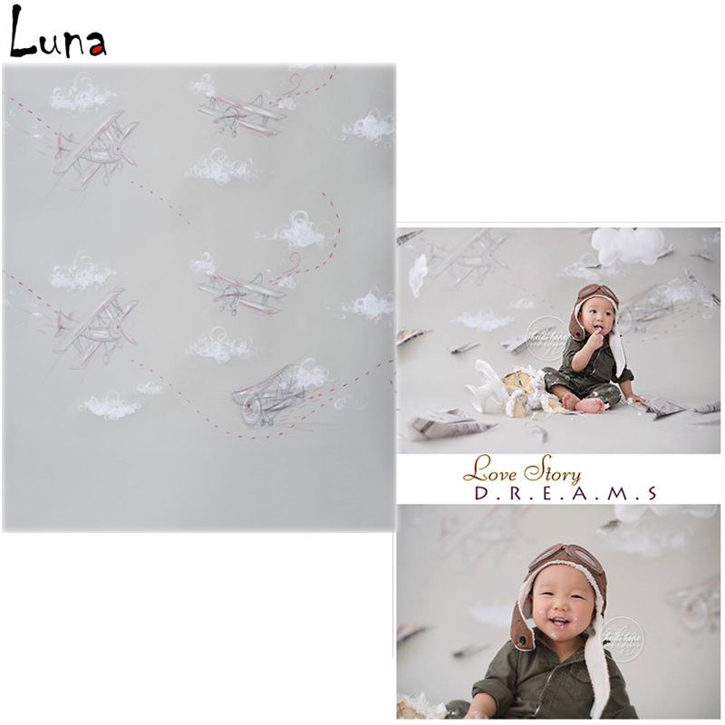 Vinyl Photo Backdrops Plane Oxford Photography Background Wallpaper Wood Floor For Children photo studio  vinyl photo backdrops for photo studio button oxford photography background wood floor for children free shipping