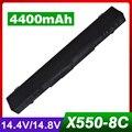 4400 мАч 14.8 В Аккумулятор Для Ноутбука ASUS A41-X550 A41-X550A X550 A450 A550 F550 F552 K450 K55 0 P450 P550 R409 R510 X450 8 клетки