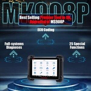 Image 3 - Autel MaxisCOM MK908P Pro voiture outil de Diagnostic automatique OBD2 Scanner automobile ECU programmation J2534 programmeur comme Maxisys Pro Elite