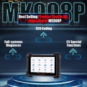 Image 3 - Автомобильный диагностический инструмент Autel MaxisCOM MK908P Pro, сканер OBD2, автомобильный программатор ECU J2534, Maxisys Pro Elite