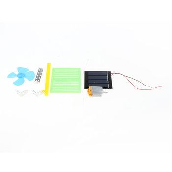 Solar Powered Electric Fans DIY  5