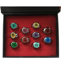 Naruto Theme Iron Rings
