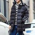 2017 winter jacket men quilted hooded  zipper winter coat men parka men winter jackets and coats chaquetas hombre Down & Parkas