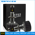 LED 5000K 6000K H7 H4 H8 H9 H11 HB3 9005 HB4 9006 Lamp Bulb 12V 30W 4200LM LED Car Headlight Bulbs for CSP Chip