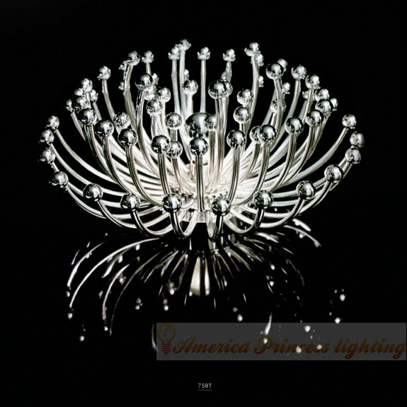 Coral jellyfish lamp aisle wall lamp aisle ceiling living room dining restaurant chrysanthemum,size:dia 62CM, E27, AC:220V. jellyfish jellyfish bellybutton deluxe edition 2 cd