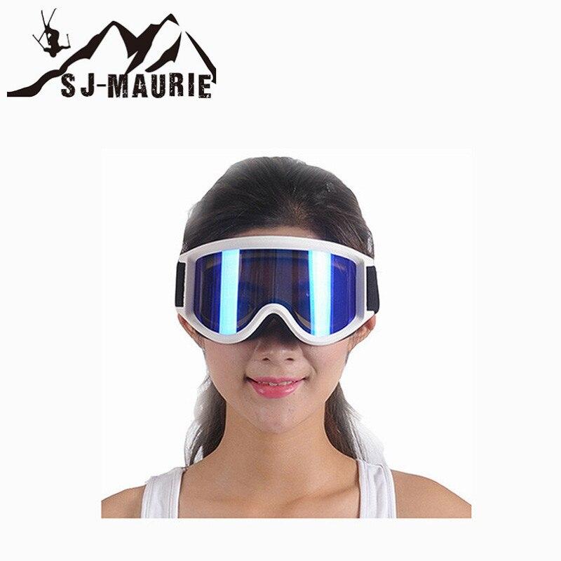 Lunettes de Ski professionnelles Double lentille Anti-buée Anti-UV adulte Snowboard lunettes de Ski femmes hommes lunettes de neige