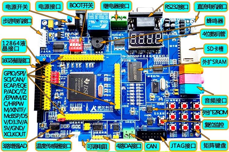 DSP28335 development board TMS320F28335 development board DSP development boardDSP28335 development board TMS320F28335 development board DSP development board