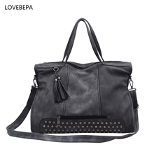NEW fashion female shoulder bag high quality women leather handbag ladies tote crossbody bags vintage bag