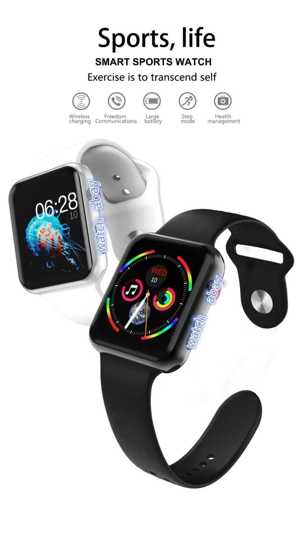 Estuche para reloj inteligente O88 Bluetooth serie 4 nueva actualización estuche para reloj inteligente para Apple iOS iPhone Xiaomi teléfono inteligente Android no Apple Watch