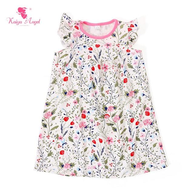 Charming Neue Baby Kleid Floral Kleinkind Mädchen Kleider Kinder ...