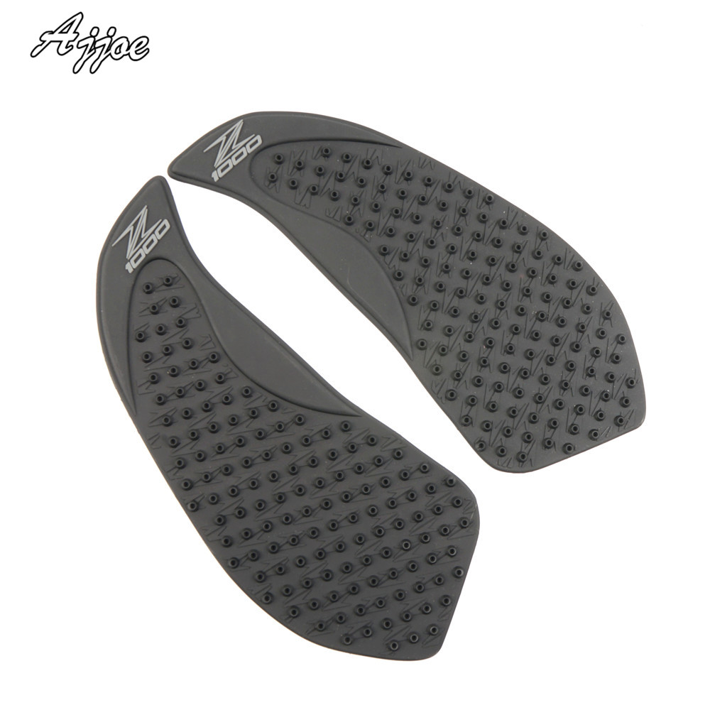 For <font><b>Kawasaki</b></font> <font><b>Z1000</b></font> <font><b>2010</b></font> 2011 2012 2013 Motorcycle Protector Anti slip Tank Pad Sticker Gas Knee Grip Traction Side Decal image