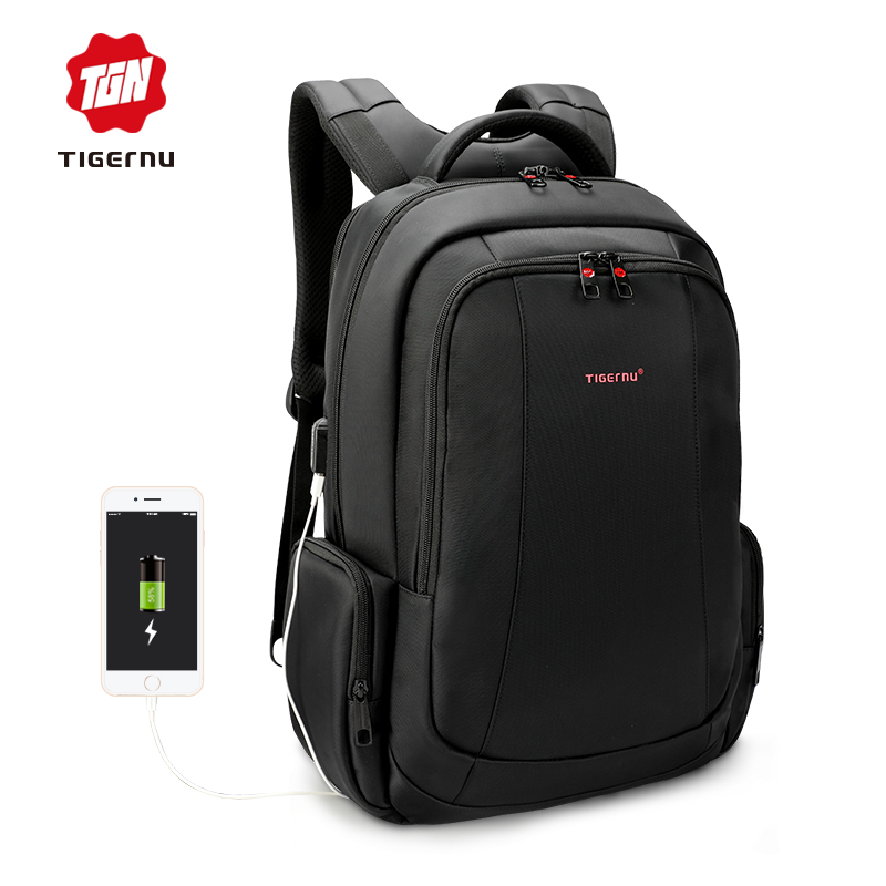 Tigernu Waterproof Nylon Anti theft 15 inch Laptop Backpack Female Men s Backpacks Women Notebook Bag