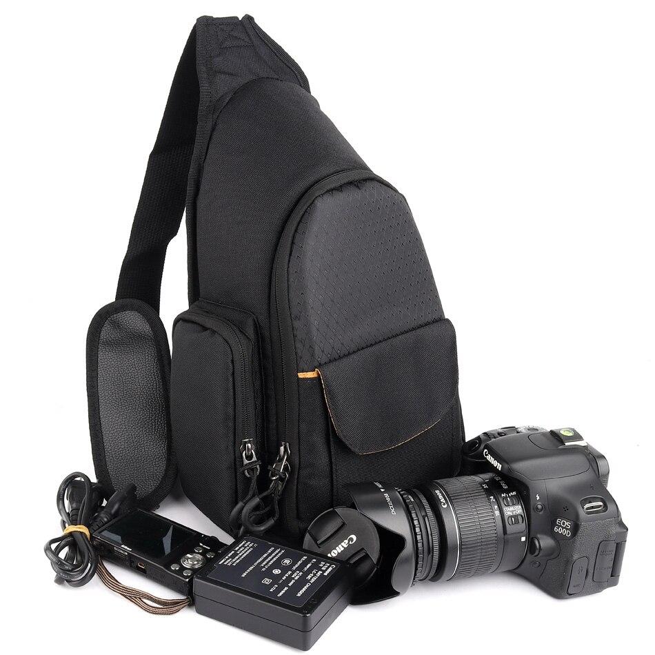 Cámara DSLR bolsa impermeable para Nikon D3400 D5300 D7200 D3300 D3200 D5600 D5500 D5200 D810 D750 D40 D60 Nikon Cámara bolsa mochila
