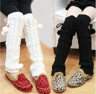 baby girls leggings warmer Winter Knit baby children leg warmers Leggings Boot Cover knit wide waistband leggings