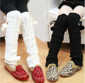 baby girls leggings warmer Winter Knit baby children leg warmers Leggings Boot Cover  #352