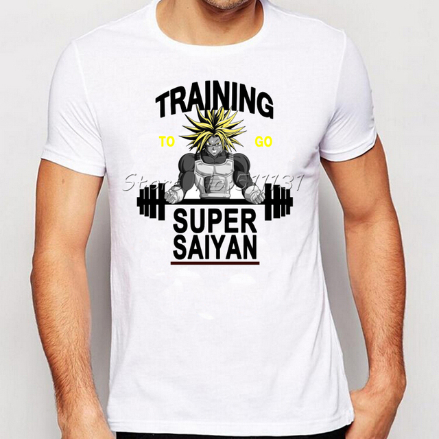 Dragon Ball Z Super Saiyan Goku's Fashion Men's T-shirt