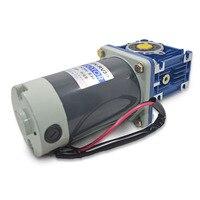 5D90GN RV30 DC12V/24V 90W 1800rpm DC gear motor worm gear gearbox high torque gear motor / output shaft diameter 14mm