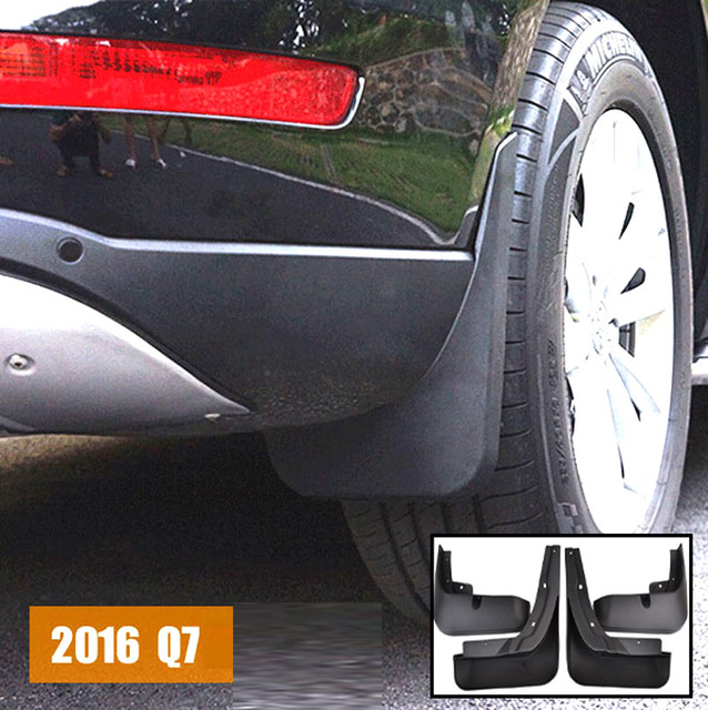 xukey front rear mudflaps fit for 2016 2017 audi q7 mud flap mud rh aliexpress com 2014 Audi Q7 2011 Audi Q7