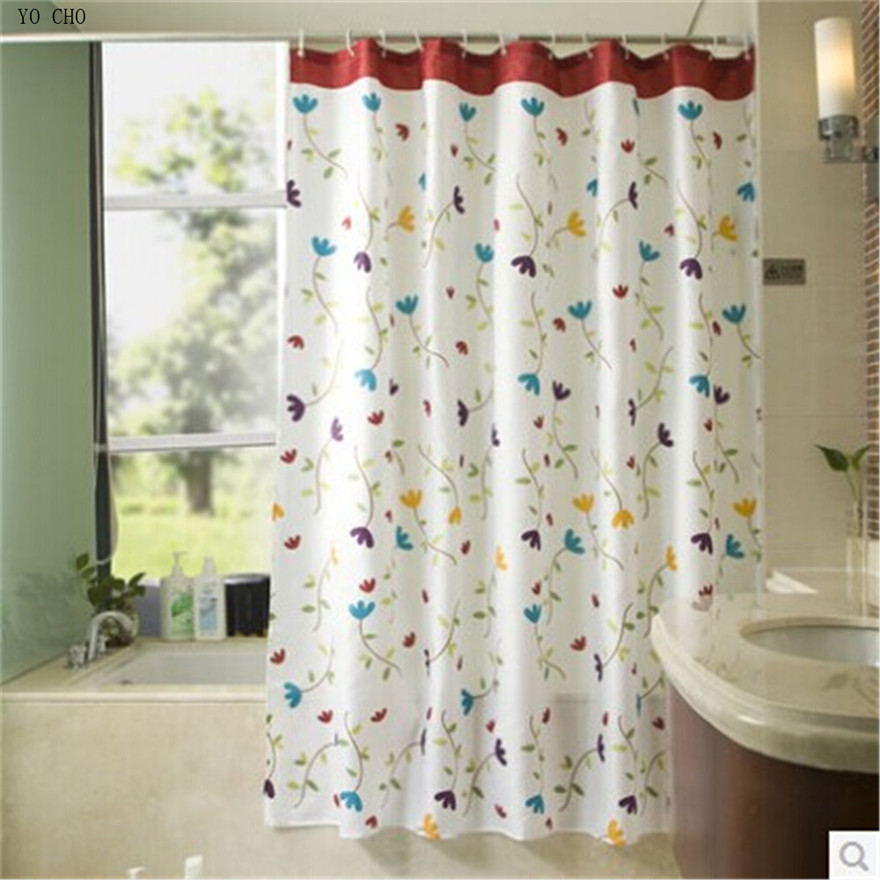 Shower Curtain Mildew-Free Polyester Fabric Waterproof fast /& Free shipping post