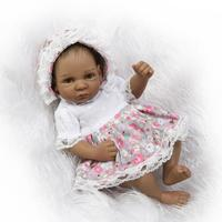 26cm Mini Size Silicone Reborn Dolls Babies Boncea Baby Alive Toys for Children's New Year Gifts,Lifelike Baby Born Doll