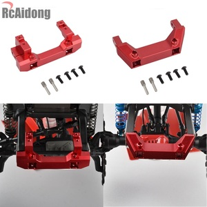 Image 1 - 1/10 RC Alloy Front Servo Stand Rear Bumper Mount For 1:10 RC Crawler Traxxas Trx4 TRX 4 Upgrade Parts
