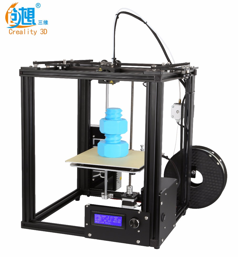 Creality 3D Printer Full Metal Auto Leveling Ender-4 Core-XY Printer With Filament Monitoring Laser Head 3D Printer DIY Kit detox ion cleanse machine ionic foot spa bath infrared belt for two people use free shipping