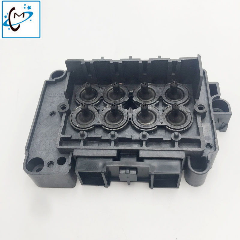 Original Dx7 printhead solvent manifold dx7 head adapter F189010 head solvent adapter cover Titanjet Wit color printer cover original printer printhead mainfold eco solvent print head capping cover for roland rs640 740 sj1045ex sj1000 vp300 vp540 xc540