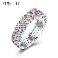 Очень красивое кольцо разноцветные ювелирные изделия с кристаллами