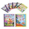 Волшебная детская книга для рисования водой с ручкой  обучающая игрушка для рисования животных  детская книга для рисования  доска для рисо...