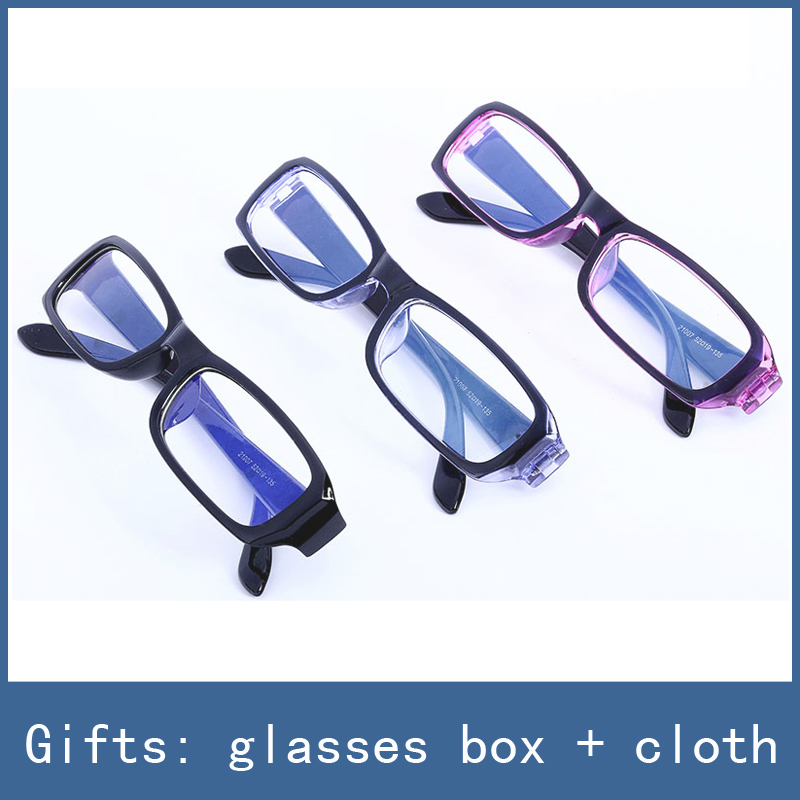 3 Colors New No-Degrees Anti-fatigue Eye Protective Safety Goggles Radiation Resistant Computer Glasses , With Box + Cloth Free topeak outdoor sports cycling photochromic sun glasses bicycle sunglasses mtb nxt lenses glasses eyewear goggles 3 colors