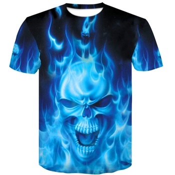 one piece menswear 2019 skull 3D T Shirt Summer Mens Fashion Tops Male Print Men Women brand casual men's shirt Anime T-Shirts 1