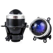 Новинка 3,0 дюймов Биксенон проектор противотуманный светильник объектив дальнего света HID лампы H11 Водонепроницаемый для Ford Focus 2 3/PEUGEOT/RENAULT/SUBARU