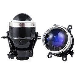 NEW 3.0 inch Bixenon Projector Fog Light Lens Driving Lamp HID Bulb H11 Waterproof For Ford Focus 2 3/PEUGEOT/RENAULT/SUBARU