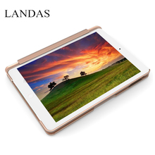 Landas For iPad Pro 9.7 Keyboard Case Aluminum Alloy Slot Cover For iPad Air 1 Case Keyboard Bluetooth Backlit For iPad 9.7 Inch slim smart connection led backlight wireless bluetooth keyboard with protective case for ipad pro 10 5 backlit aluminum alloy