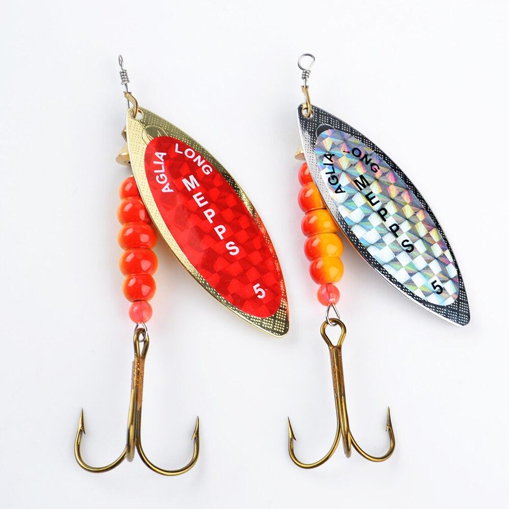 MEPPS 3pcs/bag Size3-5# Fishing Treble Hooks Mepps Lures Sppon Tackle Peche Accessories mepps bug