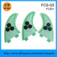 FCS Fins Honeycomb Surfing Fins G5 FCS Quilhas