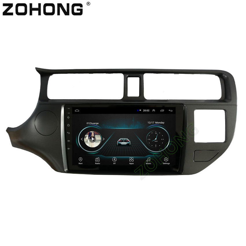 2 5D 9inch Android 8 1 Car Multimedia DVD Player For Kia RIO K3 2011 2012
