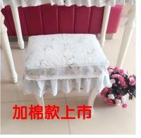 Stile pastorale tessuto di cotone trucco sgabello set sgabello del pianoforte sedia cuscino copertura antipolvere copertura formato personalizzato
