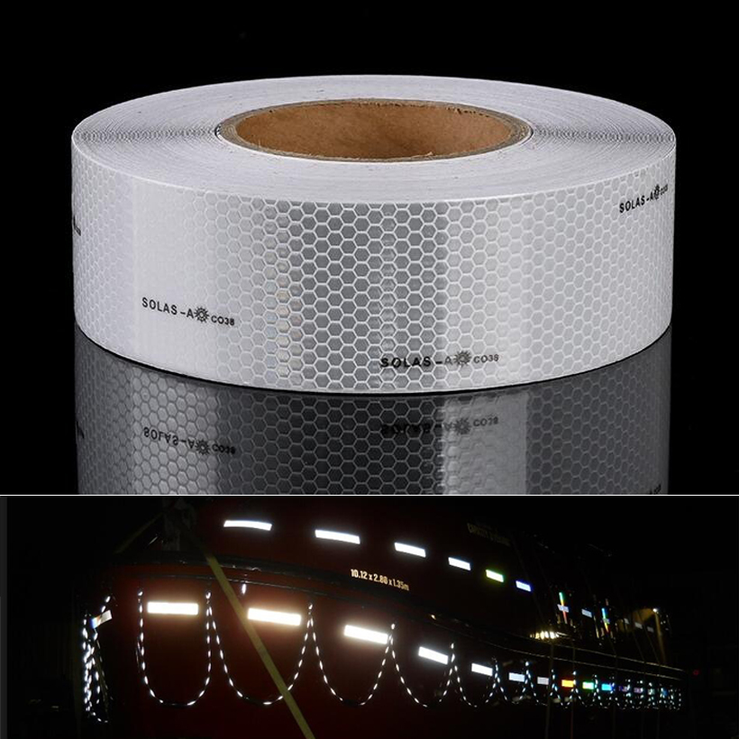 Adhesive Solas Grade Safety Maritime Reflective Tape For Traffic Safety