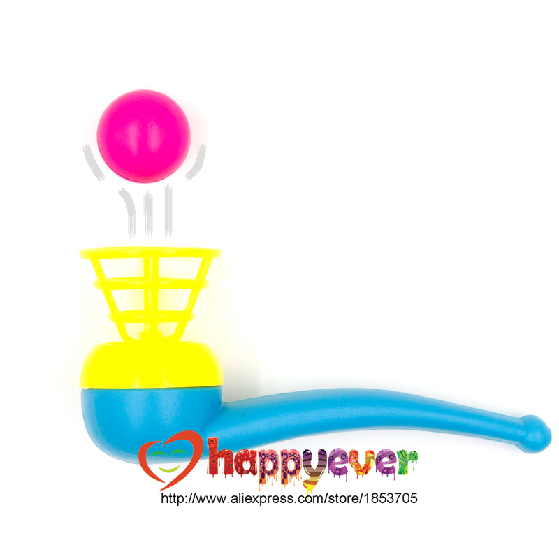 12 PCS Floating Ball Game Kids Gift Toys Kids Party Favor Blow Pipe Balls Pinata Toy Party Loot Bag Fillers Birthday Party Game