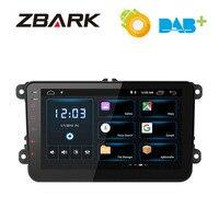 8 Android 8.1 RAM 2G Car stereo player Navigation GPS for VW Jetta Golf Amarok Beetle Lavida Caddy Passat Polo Sharan Touran