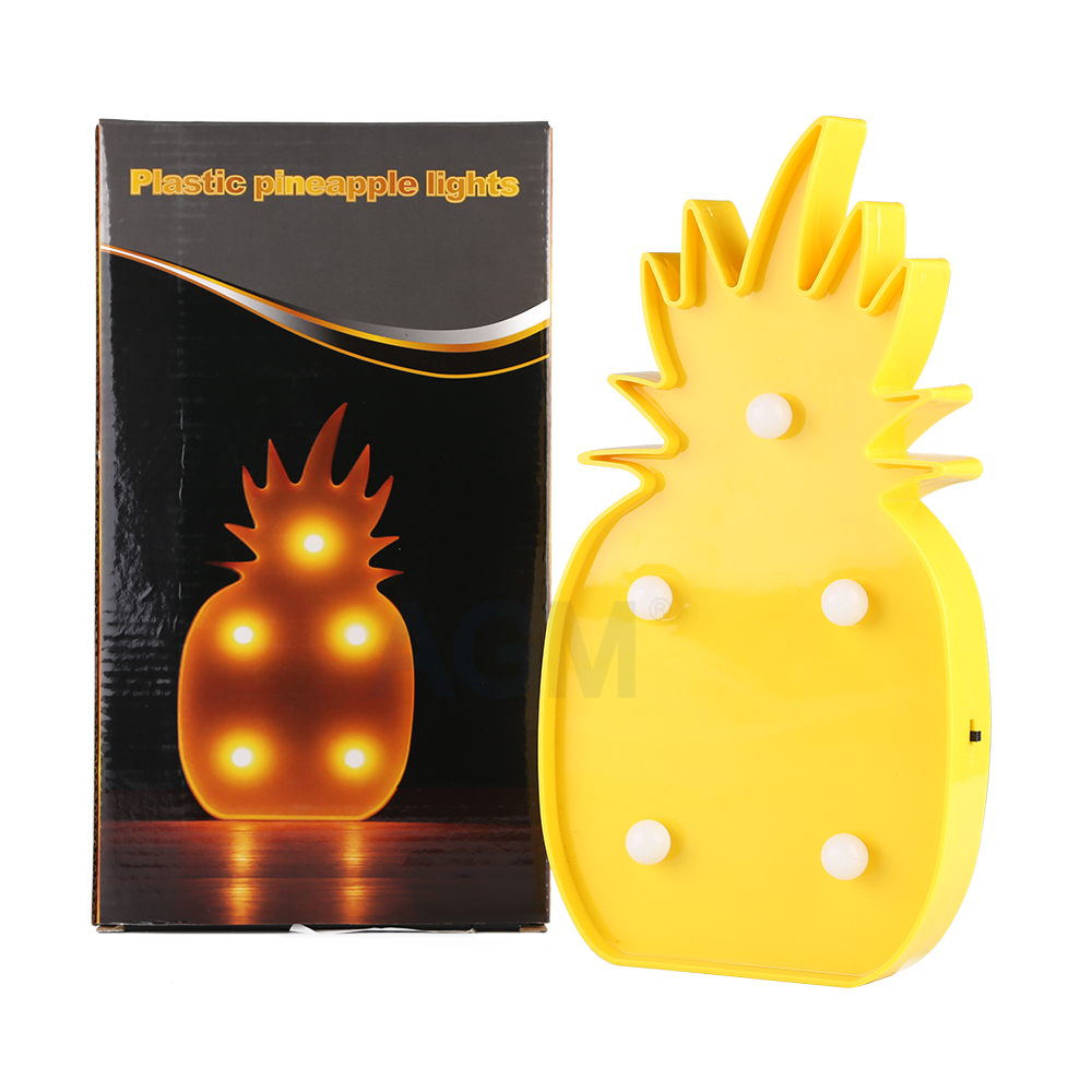 Lamps For Kids Bedroom Online Shop Agm Pineapple Marquee Led Nightlight Battery Operated