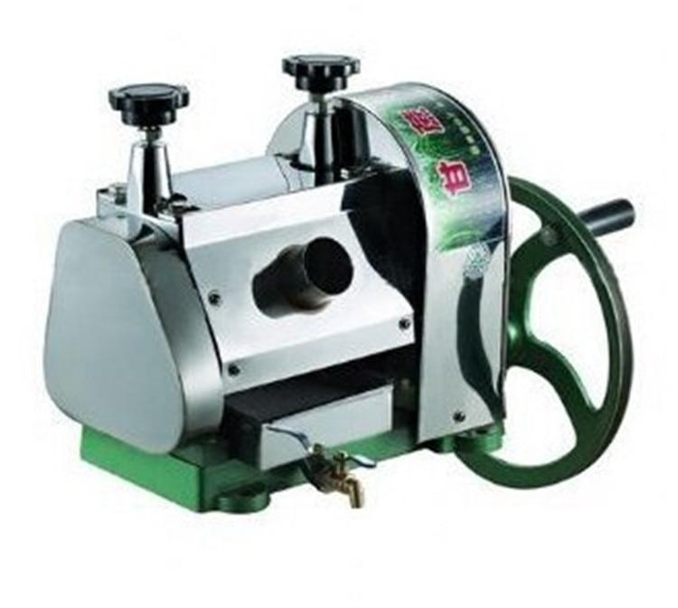 Manual Sugarcane Juicer Extractor,hand operation Sugar Cane juice Machine, Stainless steel Sugar juicing Machine