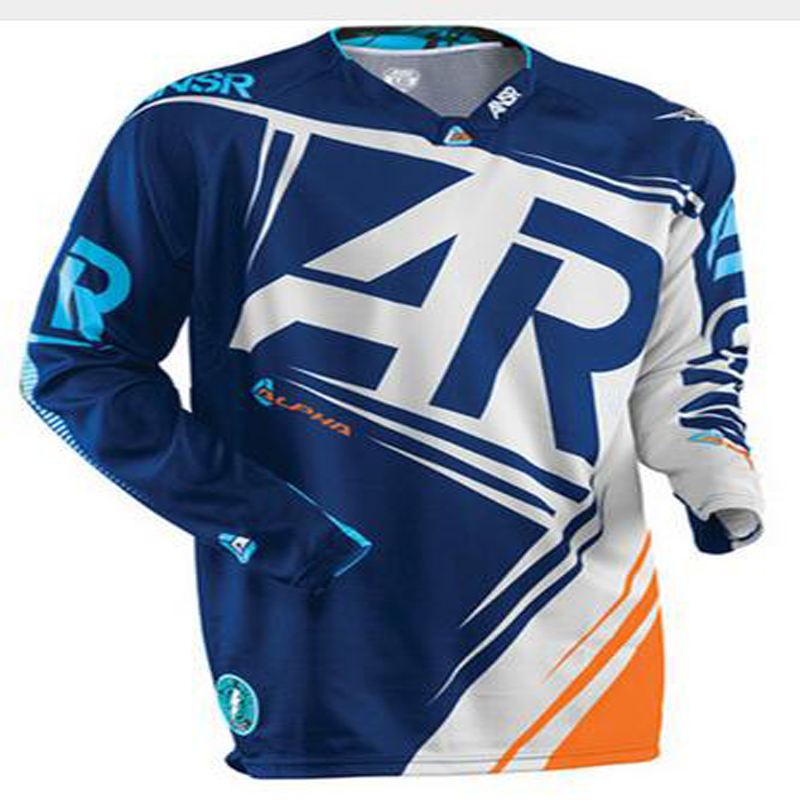 MTB Jersey Offroad Motocross-Clothing Breathable Shirt T-Tee Quite MX Dry-Dh
